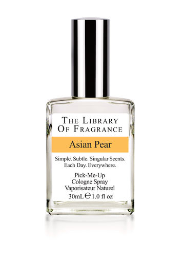 Asian pear · Cologne spray · The Library Of Fragrance